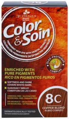 Color & Soin Red & Coppery trwały kolor włosów z ekstraktem roślinnym