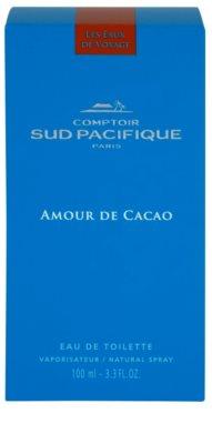 Comptoir Sud Pacifique Amour De Cacao Eau de Toilette pentru femei 4
