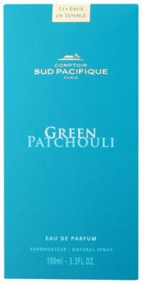 Comptoir Sud Pacifique Green Patchouli woda perfumowana unisex 4