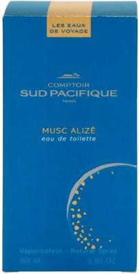 Comptoir Sud Pacifique Musc Alizé eau de toilette nőknek 4