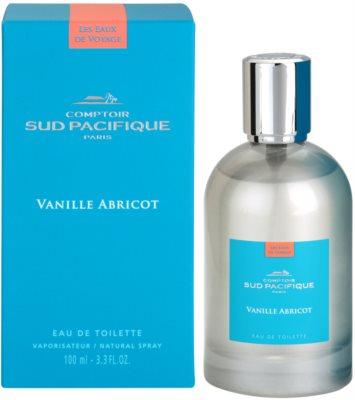 Comptoir Sud Pacifique Vanille Abricot Eau de Toilette für Damen