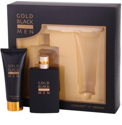 Concept V Gold Black ajándékszett