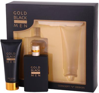 Concept V Gold Black подаръчен комплект