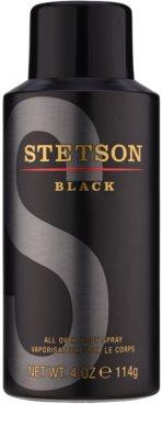 Coty Stetson Black tělový sprej pro muže