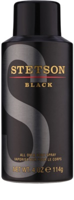 Coty Stetson Black спрей за тяло за мъже