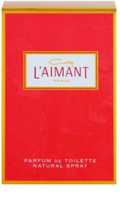 Coty L'Aimant Eau de Toilette für Damen 1