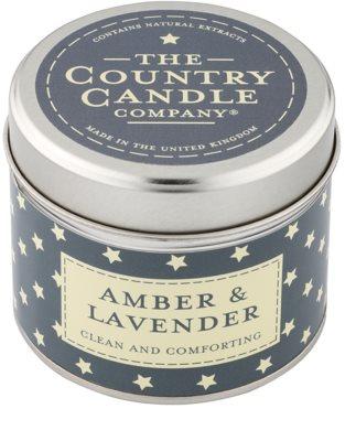 Country Candle Amber & Lavender świeczka zapachowa    w puszcze