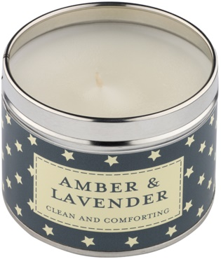Country Candle Amber & Lavender Duftkerze    in Blechverpackung 1