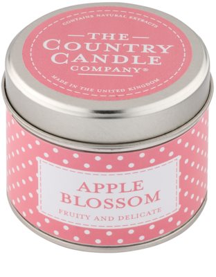 Country Candle Apple Blossom Duftkerze    in Blechverpackung