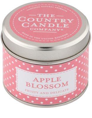 Country Candle Apple Blossom świeczka zapachowa    w puszcze