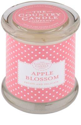 Country Candle Apple Blossom ароматизована свічка    в скляному стакані з кришечкою