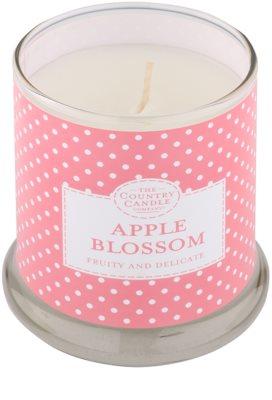 Country Candle Apple Blossom ароматизована свічка    в скляному стакані з кришечкою 1