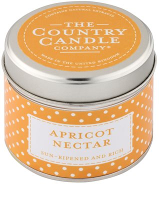 Country Candle Apricot Nectar Duftkerze    in Blechverpackung
