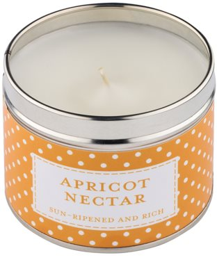Country Candle Apricot Nectar Scented Candle   in Tin 1