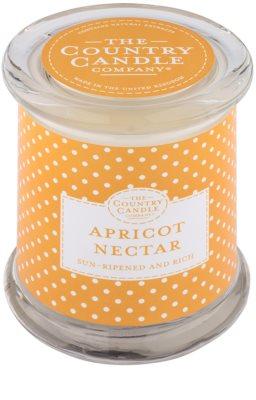 Country Candle Apricot Nectar vonná sviečka   v skle s viečkom