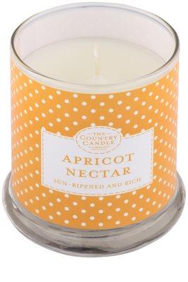 Country Candle Apricot Nectar ароматизована свічка    в скляному стакані з кришечкою 1