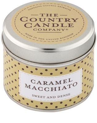 Country Candle Caramel Macchiato ароматизована свічка    в металевій коробці