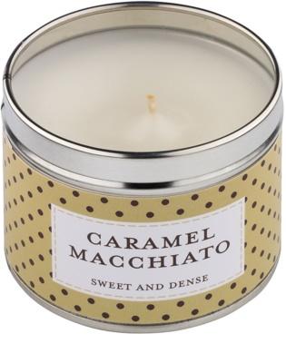Country Candle Caramel Macchiato ароматизована свічка    в металевій коробці 1