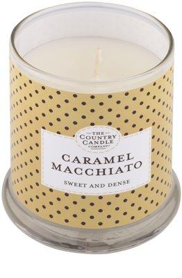 Country Candle Caramel Macchiato vonná svíčka   ve skle s víčkem 1
