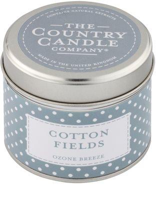 Country Candle Cotton Fields dišeča sveča    v pločevinki