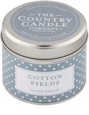 Country Candle Cotton Fields illatos gyertya    alumínium dobozban