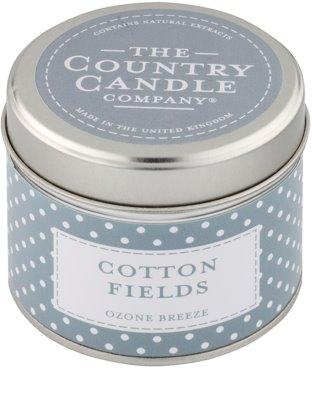 Country Candle Cotton Fields vela perfumado   Em placa