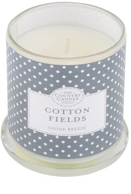 Country Candle Cotton Fields vonná svíčka   ve skle s víčkem 1