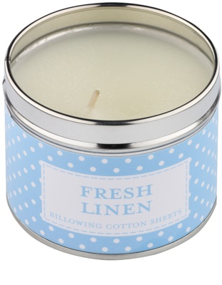 Country Candle Fresh Linen Duftkerze    in Blechverpackung 1