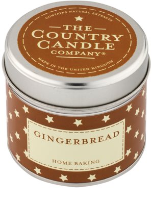 Country Candle Gingerbread ароматизована свічка    в металевій коробці