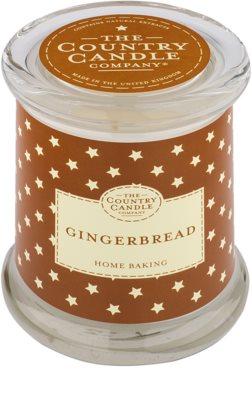 Country Candle Gingerbread vela perfumado   em vidro com tampa