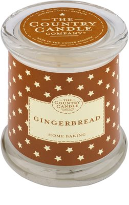 Country Candle Gingerbread ароматизована свічка    в скляному стакані з кришечкою
