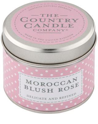 Country Candle Moroccan Blush Rose świeczka zapachowa    w puszcze