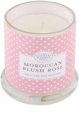 Country Candle Moroccan Blush Rose świeczka zapachowa    w szkle z pokrywką 1