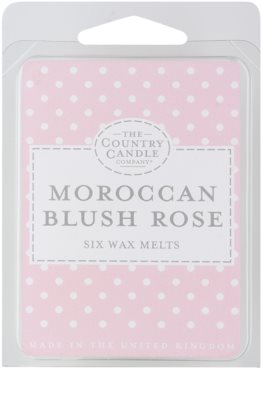 Country Candle Moroccan Blush Rose wosk zapachowy