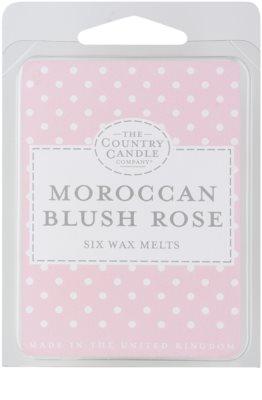 Country Candle Moroccan Blush Rose восък за арома-лампа