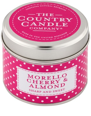 Country Candle Morello Cherry & Almond ароматна свещ    в кутия