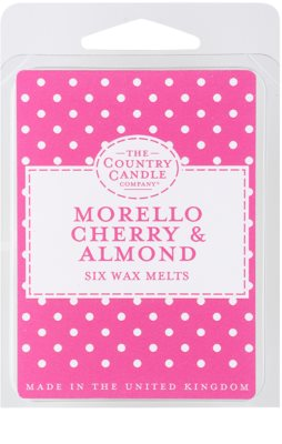 Country Candle Morello Cherry & Almond Wachs für Aromalampen