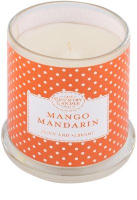 Country Candle Mango Mandarin świeczka zapachowa    w szkle z pokrywką 1