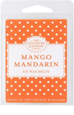 Country Candle Mango Mandarin Wachs für Aromalampen