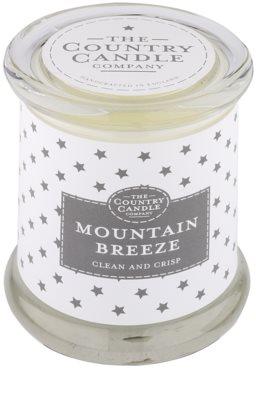 Country Candle Mountain Breeze vonná sviečka   v skle s viečkom