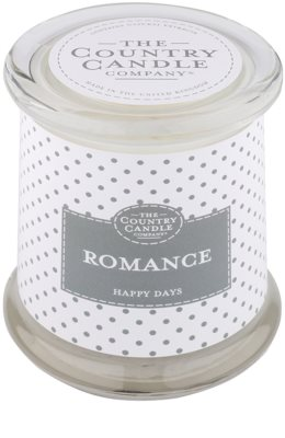 Country Candle Romance Scented Candle   in Glass Jar with Lid