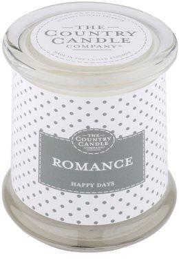 Country Candle Romance świeczka zapachowa    w szkle z pokrywką