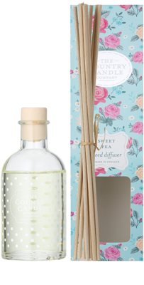 Country Candle Sweet Pea Aroma Diffuser mit Nachfüllung