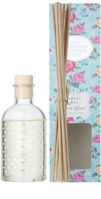 Country Candle Sweet Pea aroma diffúzor töltelékkel