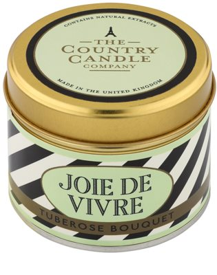 Country Candle Tuberose Bouquet Scented Candle   in Tin