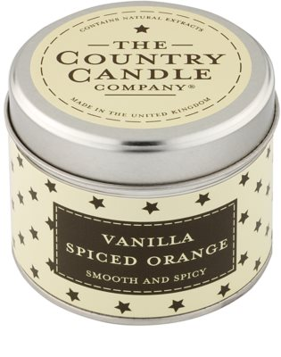Country Candle Vanilla Spiced Orange lumanari parfumate
