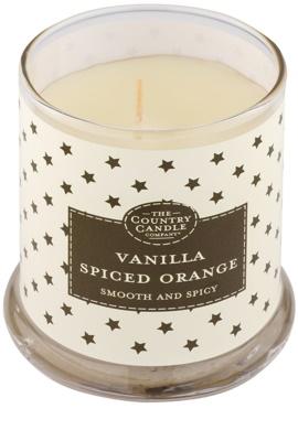 Country Candle Vanilla Spiced Orange illatos gyertya    üvegben fedővel 1