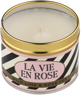 Country Candle Wild Lime & Rose Tea vela perfumado   Em placa 1