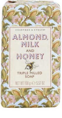 Crabtree & Evelyn Almond Milk & Honey feuchtigkeitsspendende Seife