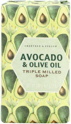 Crabtree & Evelyn Avocado & Olive Oil mydlo s olivovým olejom